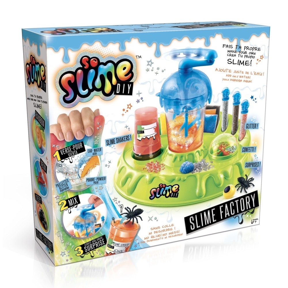 So Slime Laboratory, fiús